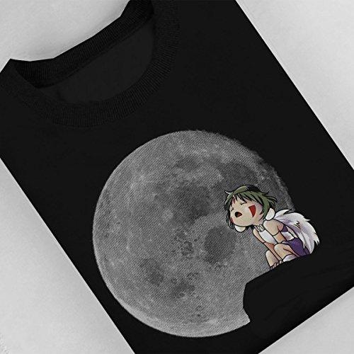 Princess Mononoke Moon Women's Sweatshirt Black