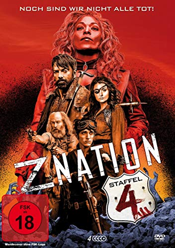 Z Nation - Staffel 4 (4 DVDs / UNCUT-Edition)