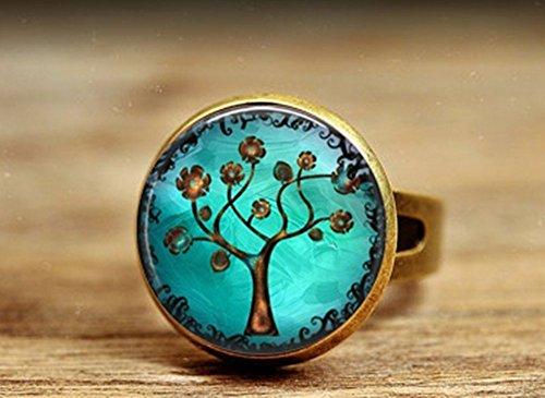 livraison-gratuite-vintage-camee-bronze-antique-cuivre-arbre-art-photo-bague-cuivre-bijoux-fait-main