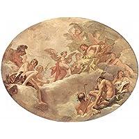 Comparador de precios Lais Puzzle Sebastiano Ricci - Serie de Pintura para la Casa Burlington en Londres, Escena: Cupido Antes de Júpiter 2000 Piezas - precios baratos