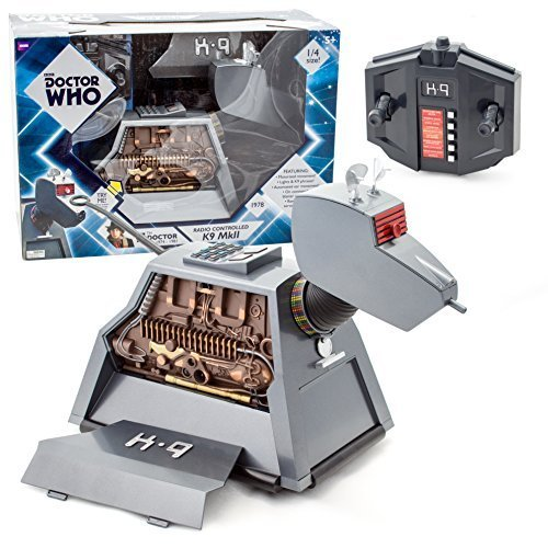 Doctor Who RC Remote Controlled K-9 Mark II Robot Dog - As Seen on Dr. Who (11