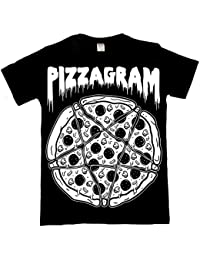The Dead Generation Occult Pizzagram Pentagram T Shirt - Alternative Gothic Clothing For Women by Luna Cult