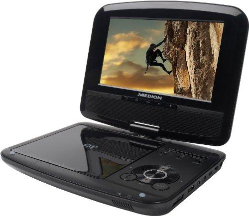 Medion 50044666 LIFE P72066 Portable DVD-Player mit DVBT-T Tuner (17,8 cm (7 Zoll) LCD-Display, USB 2.0)