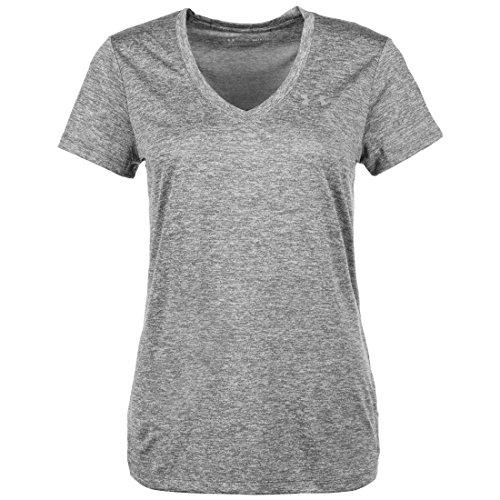 Under Armour Damen UA Tech Oberteil, kurzärmliges & atmungsaktives Laufshirt für Frauen, ultraleichtes T-Shirt mit loser Passform -
