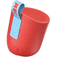 Jam Chill Out Compact Bluetooth Speaker, 8 Hour Playtime, 30 Metre Range, Waterproof, Dust Proof, Drop Proof IP67 Rating, Built In Wireless Speakerphone, 3w Mono Driver, Integrated USB - Red preiswert