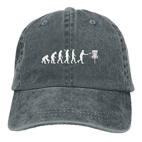 angwenkuanku Unisex Baseball Cap Garn gefärbt Denim Hut Evolution Disc Golf einstellbare Snapback Peak Cap wunderschöne 5243 -
