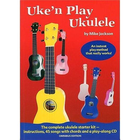 Uke n' Play Ukulele Omnibus (Book & CD) (Mike Jackson Ukulele)