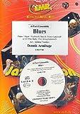 Blues (+CD) : pour kit de 4 pièces (piano/orgel et percussion ad lib)
