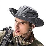 Best Los sombreros de ala - SIYWINA Hombres Sombrero para el sol Protección UV Review
