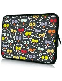Sidorenko Designer Laptoptasche Notebooktasche Sleeve für 10 - 10,2 Zoll / 13 - 13,3 Zoll / 14 - 14,2 Zoll / 15 - 15,6 Zoll / 17 - 17,3 Zoll Neopren Schutzhülle