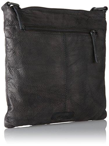 s.Oliver Damen 32.710.94.4500 Umhängetasche, 5x26.5x26 cm Grau (Grey)