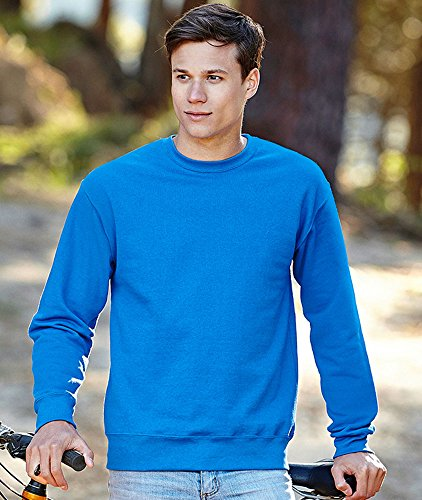 Fruit of the Loom - Set-In Sweatshirt - deep navy - Größe: XL - 2