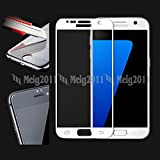 Tempered Glass 9H Full Cover Screen Protector For Samsung Galaxy S7 - White