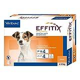 Effitix 4pipette per animali da 4 a 10 kg