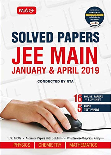 JEE Main Solved Papers Jan & Apr-2019 PCM