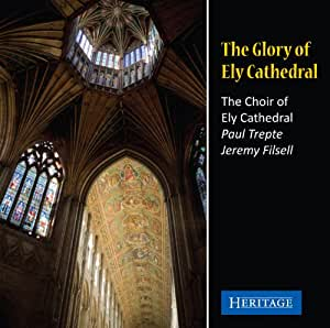 The Glory of Ely Cathedral. Choeur de Ely Cathedral, Trepte, Filsell.