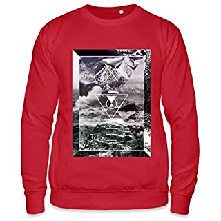 Water Waves And Nature Beauty Unisex Sweatshirt Medium