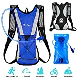 Nikduo Hydration Backpack, Water Backpack with 2L Water Bladder Lightweight Hiking backpack Hydration