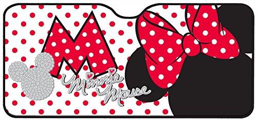 Mickey Mouse 26061 Minnie Mouse Sonnenblende für die Frontscheibe. Aluminium-Luftpolster, 130 x 70 cm,1 ()