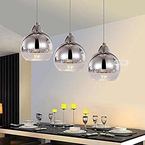 Owo Modern Simple European-Style Creative Dining Table Three Modern Pendant Lights For Corridor, Living Room, Dining Room, Warehouse,Kitchen, Bedroom, Exhibition Hall,Entrance ,Disc 3