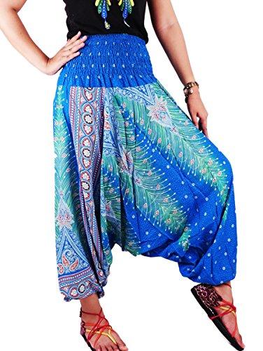 jep01-hippy-hippie-boho-festival-peacock-genie-aladdin-harem-pants-trousers-jumpsuit-light-blue