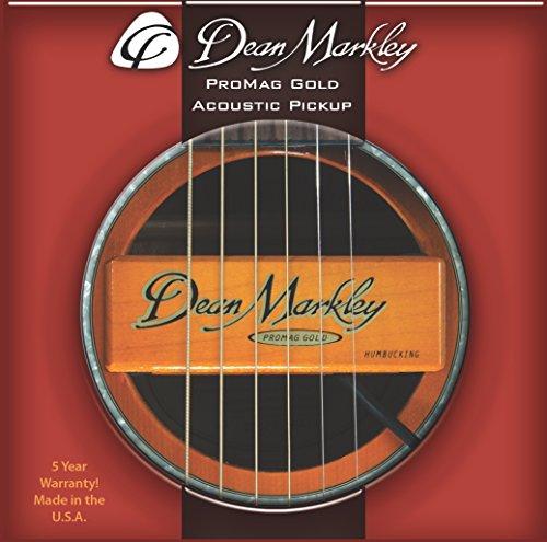 RECOGER DEAN MARKLEY 3018 PROMAG GUITARRA ACUSTICA ORO