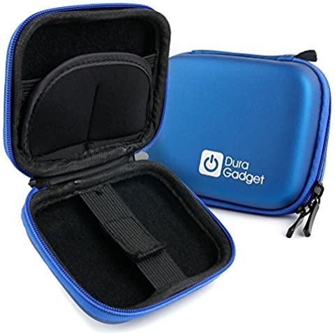 DURAGADGET Estuche Rígido Azul Para Smartwatch Garmin Edge 820 Explore / Garmin Edge 820