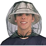 Mosquito Midge Insect Head Net Hat Mesh Face Protector Travel Camping Fishing UK