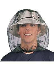Mosquitera para cabeza neta gorro de malla protector facial Viaje Camping, Pesca y UK