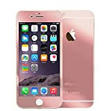 Hutz Rose Gold Front & Back Tempered Glass For Apple iPhone 5 & Apple iPhone 5S