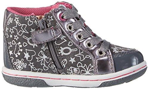 Geox B Flick A, Chaussures Marche Bébé Fille Grau (DK GREYC9002)