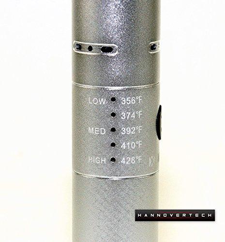 Vaporizer – X-Max V2 Pro – Bestseller Vaporizer Nr. 1 ehemals unter dem Namen (Storm) – 2200mA/h Lithium-Ion Akku – Perfekte Stiftform – Edel aus Aluminium – geeignet zum dampfen von Kräuter , Öl und Wachs - 3
