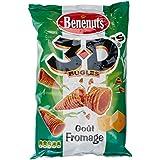 Benenuts Biscuits Apéritifs Bugles 3d'S Goût Fromage 85 g