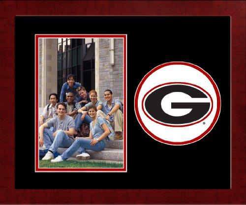 CAMPUS TELECOM NCAA Georgia Bulldogs University Spirit Bilderrahmen, vertikal