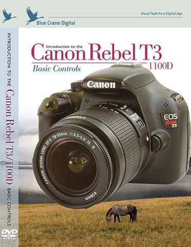 Blue Crane Digital Einführung in die Canon Rebel T3/1100D: Basic Kontrollen (zbc140)