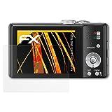 atFoliX Schutzfolie für Panasonic Lumix DMC-TZ25 Displayschutzfolie - 3 x FX-Antireflex blendfreie Folie
