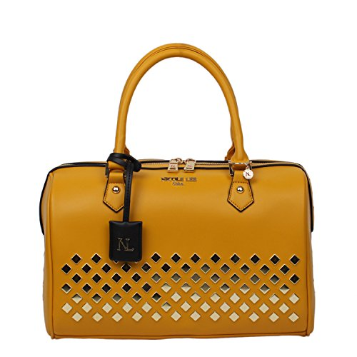 nicole-lee-rowan-diamond-studded-boston-bag-mustard
