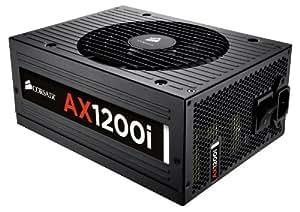 Corsair CP-9020008-UK Professional Series Digital AX1200i ATX/EPS Fully Modular 80 PLUS Platinum Power Supply Unit, 1200 W