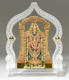#10: Eknoor Car Dashboard Idol- Goldplated- Bala ji with japa mala (prayer beads)