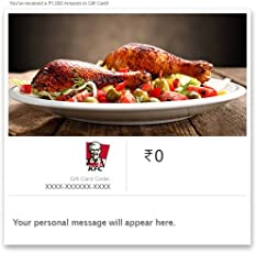 KFC Instant Gift Voucher
