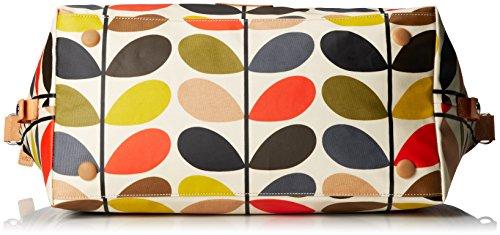 ETC by Orla Kiely - Borsa bowling, Donna Multicolore (Mehrfarbig)