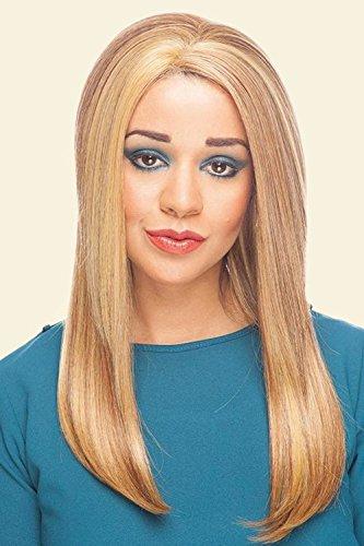 Cherish Lace Front Perruque fabriquée à la main Jordan longues droites pour femme classique Perruque Fibre Synthétique de haute qualité non transformés extension de cheveux humains