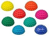 8er-Set | TheraPIE Balance Igel MINI | Durchmesser: 9 cm | Gymnastik Igel | Igelball | Kleiner Balance Igel, ideal für Kinder