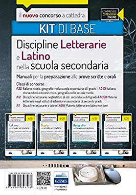 Il nuovo concorso a cattedra. Classi A22 (A043), A12 (A050), A11 (A051). Kit discipline letterarie e latino nella scuola secondaria. Manuale... Con espansione online