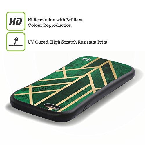 Offizielle Elisabeth Fredriksson Geometrie 3 Art Deco Kollektion Hybrid Hülle für Apple iPhone 5 / 5s / SE Geometrie 6