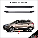 Trittbretter Seitenschweller Aerodynamik Funktional Aluminium Schwarz Omberg