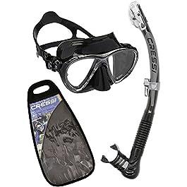 Cressi Big Eyes Evolution & Alpha Ultra Dry – Professional Combo Set per Immersioni e Snorkelling