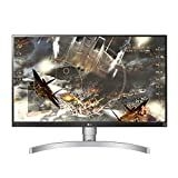 LG 27UL650 Monitor 27' Ultra HD 4K LED IPS HDR 400, 3840 x 2160, Radeon FreeSync 60Hz, 1x Display Port, 2x HDMI, Uscita Audio, Multitasking, Altezza Regolabiile
