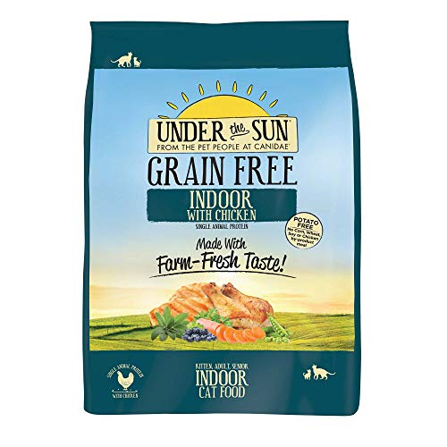 Canidae Under the Sun Grain Free Indoor Cat Food with Chicken, 10 lbs