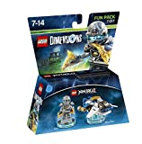 Cheapest LEGO Dimensions  LEGO Ninjago  Zane Fun Pack on PlayStation 4
